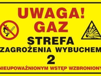 zagrożenie gaz
