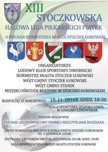 XIII  Stoczkowska Halowa Liga Piłkarskich Piątek @ Stoczek Łukowski | lubelskie | Polska